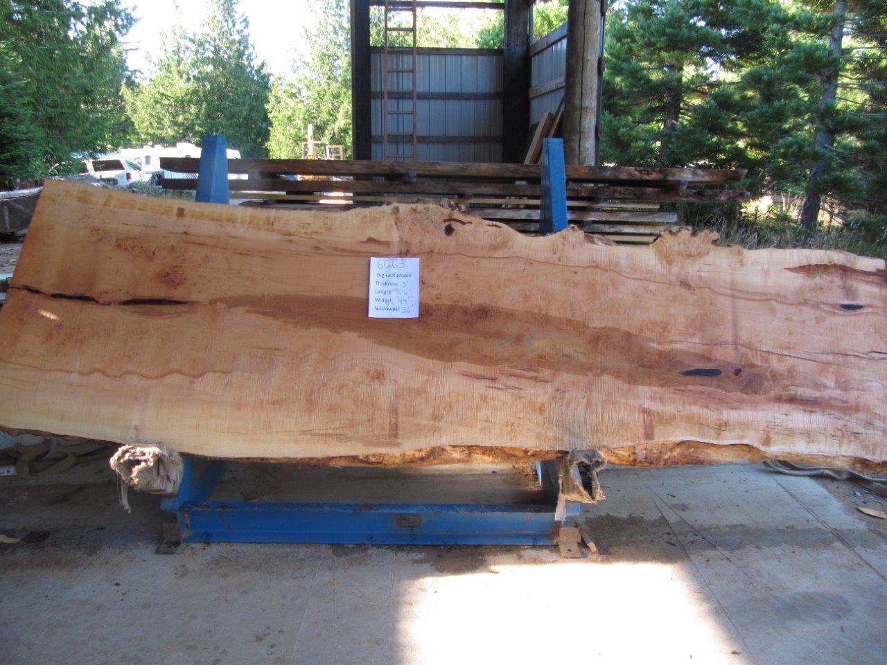 Maple Slab 6063