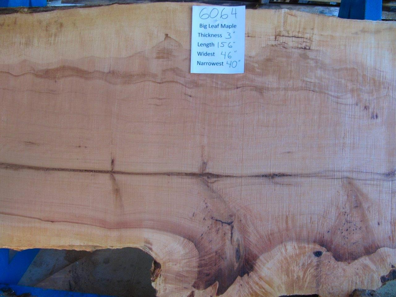 Maple Slab 6064b