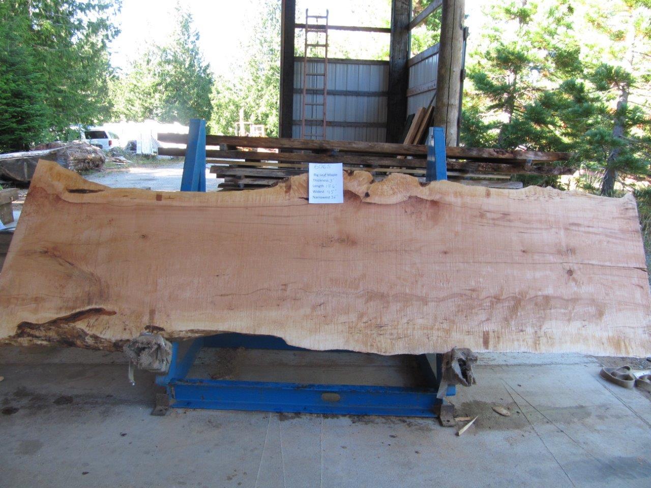 Maple Slab 6065