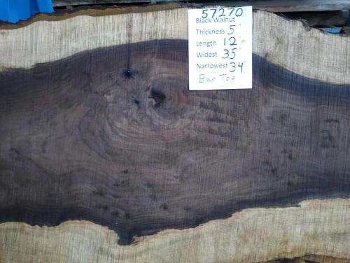 Black Walnut Bar Top 57270
