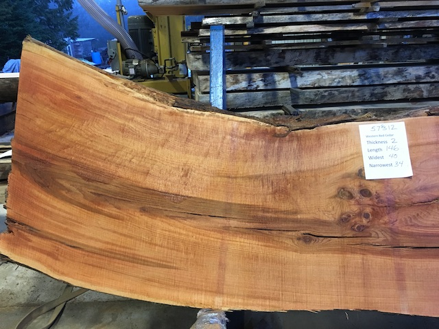 Cedar Slab 57312a