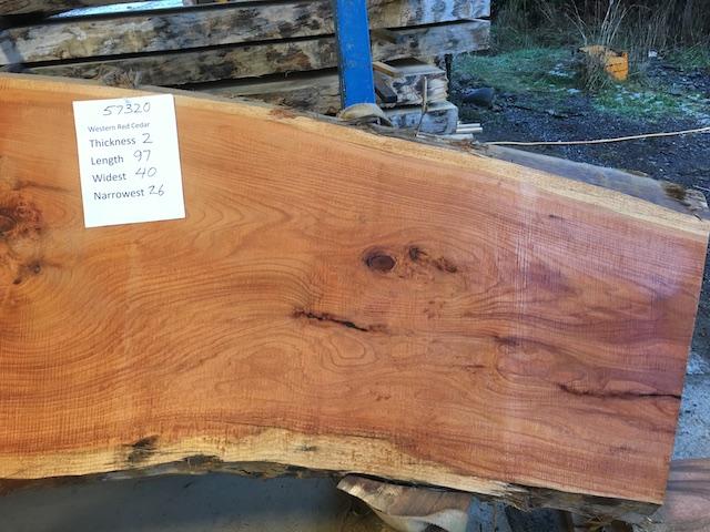 Cedar Slab 57320b