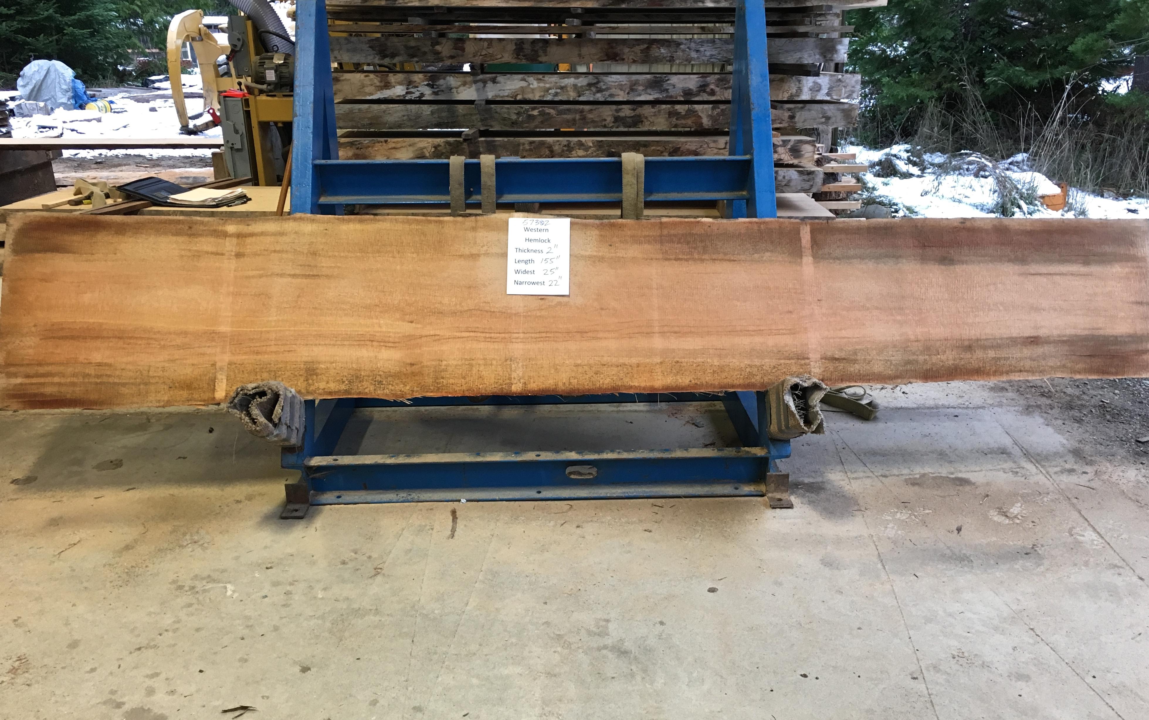 Hemlock Slab 57302