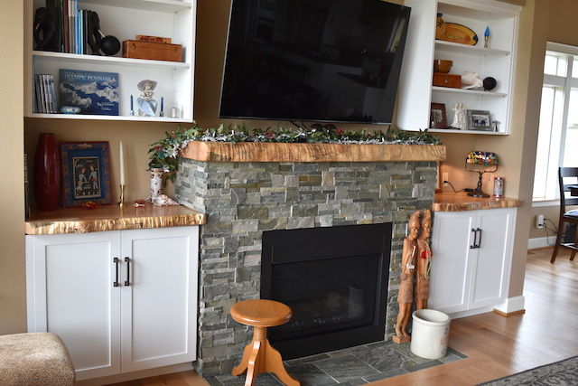 Fireplace Mantel Set