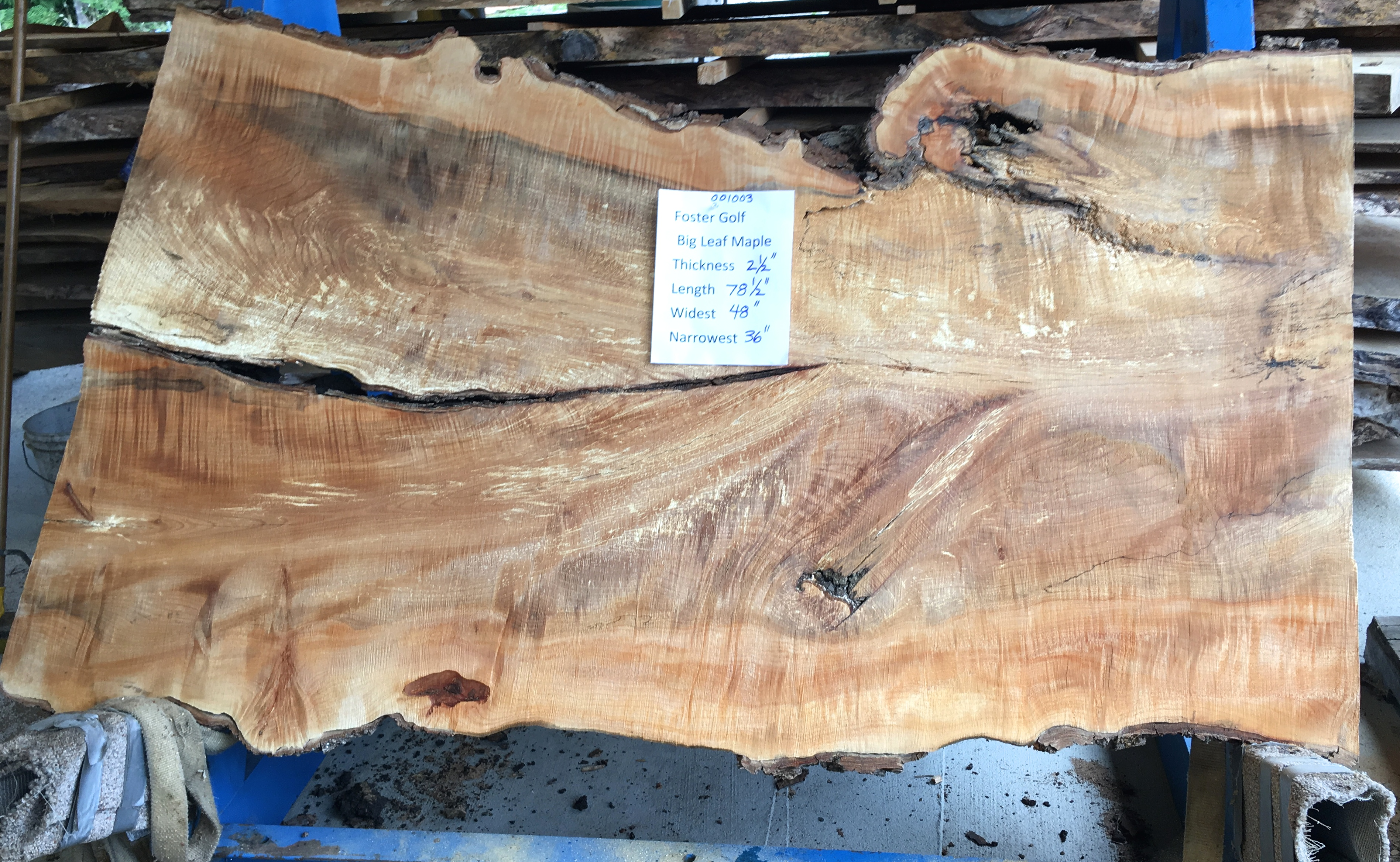Maple Slab 1003