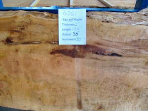 Maple Slab 6061
