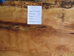 Maple Slab 6062
