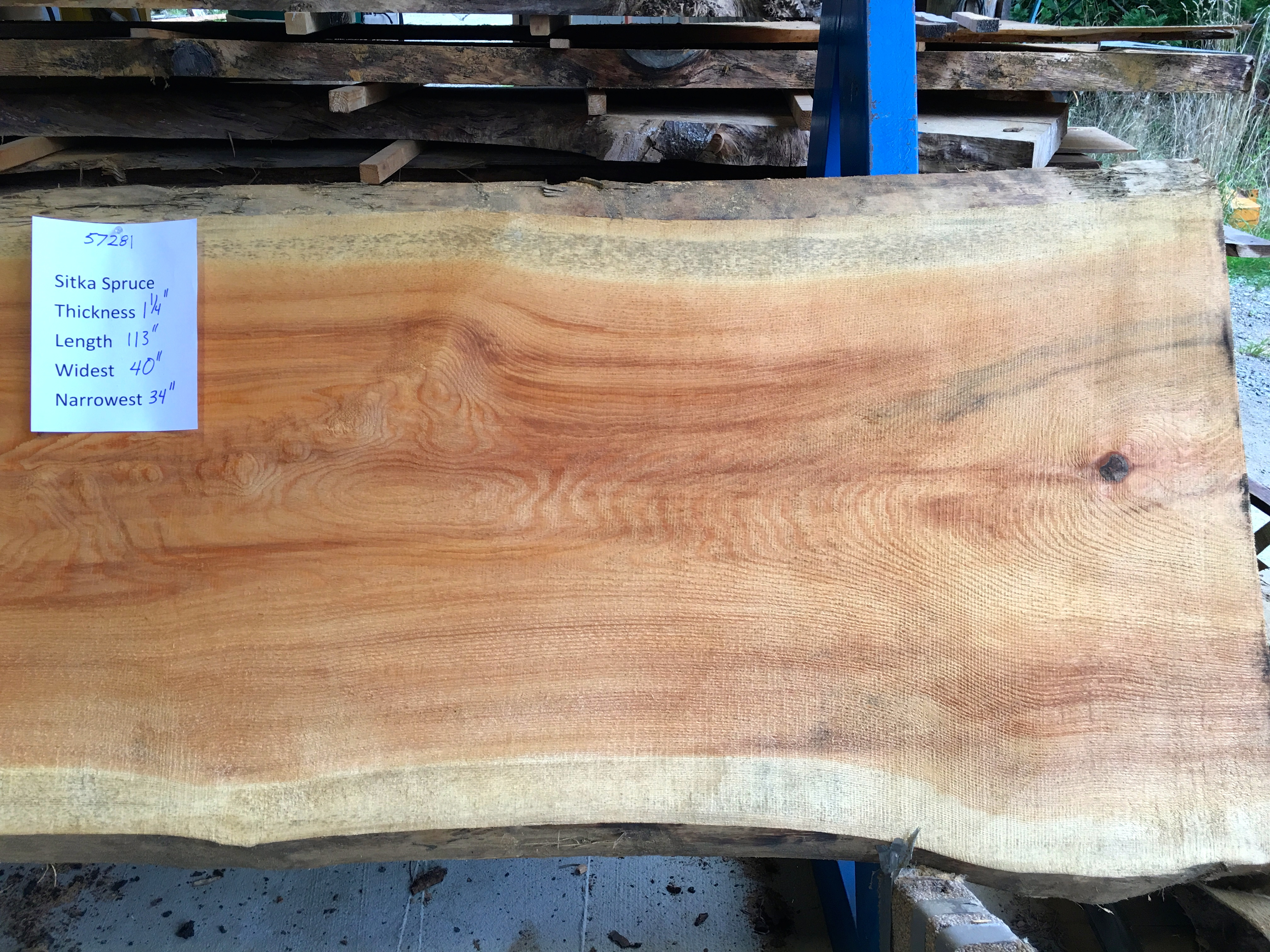 Spruce Slabs