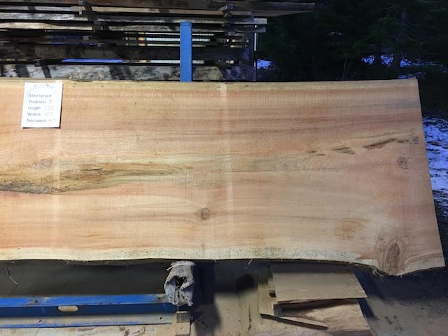 Spruce Slab 57286b