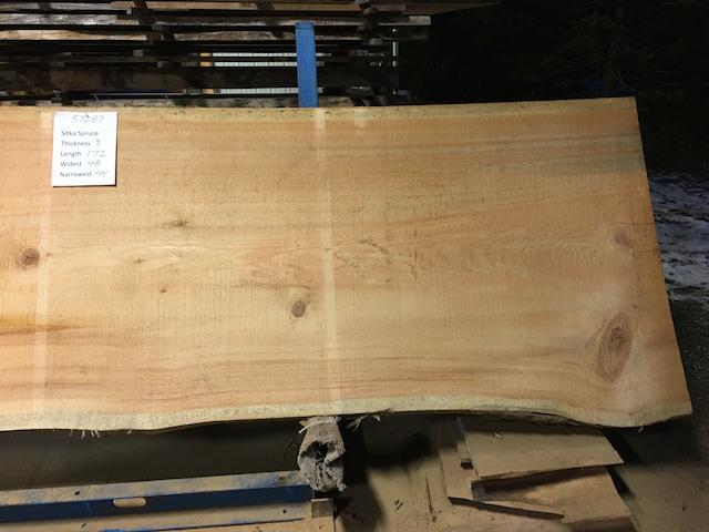 Spruce Slab 57287b