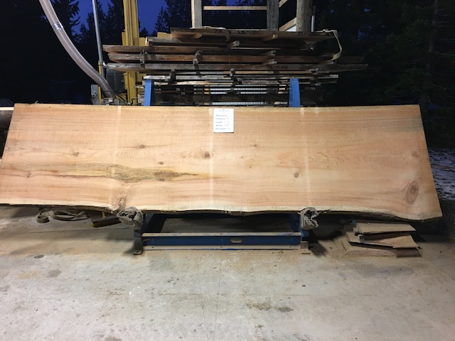 Spruce Slab 57287
