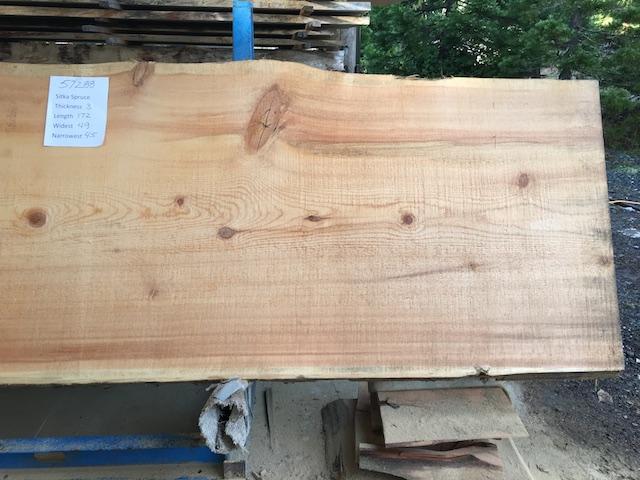 Spruce Slab 57288b
