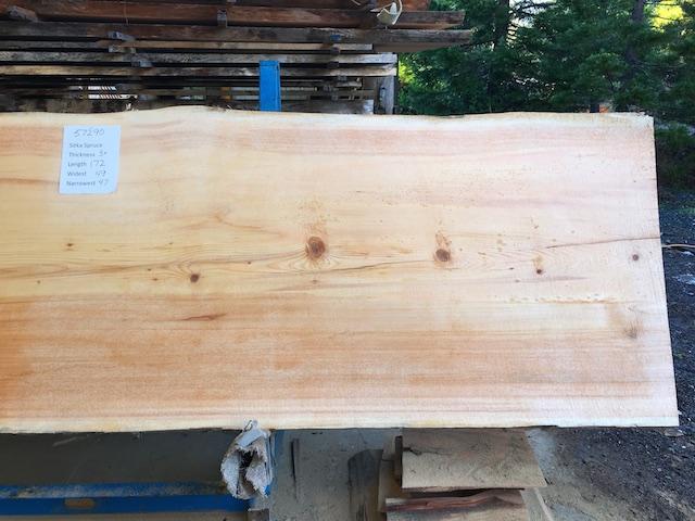 Spruce Slab 57290b